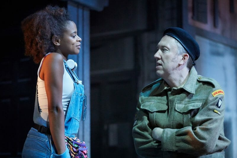 Ayesha Antoine Richard Lumsden. White Teeth at Kiln Theatre. Photo by Mark Douet A