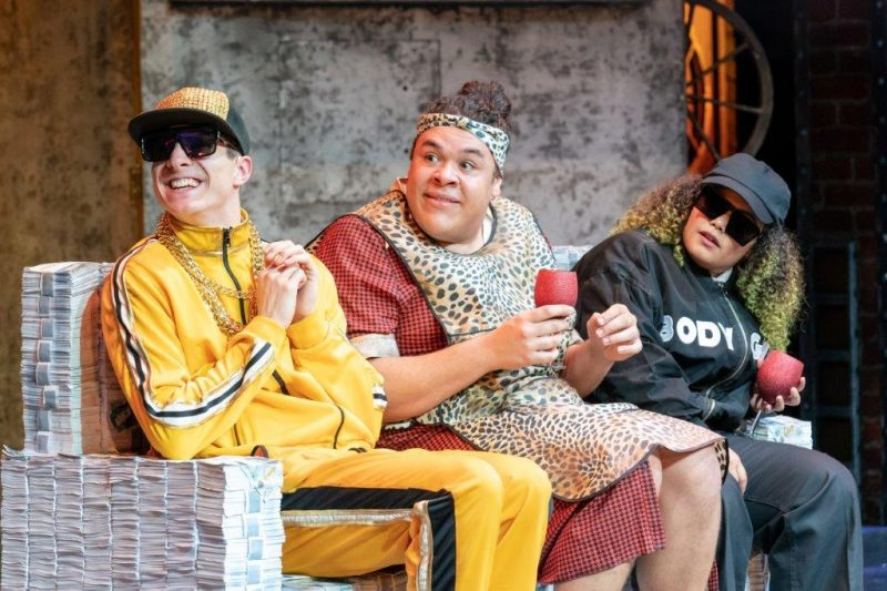 Billionaire Boy. Jared Leathwood Dave Grubb Lem Knights Bob and Natalie Morgan Sue Grubb. Credit Manuel Harlan