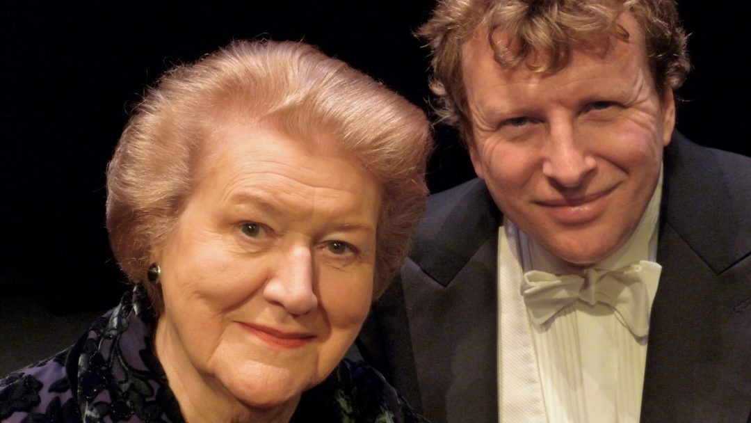 Dame Patricia Routledge and Piers Lane c Gussie Welch