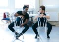 Dex Lee and Ross McLaren in rehearsals. Photo by Manuel Harlan.