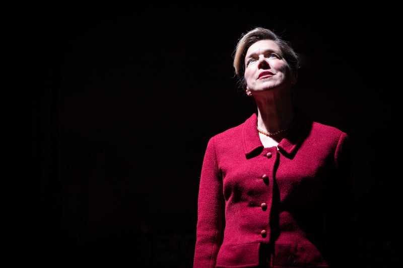 Janie Dee in Pinter Four. Photo credit Marc Brenner DRESS