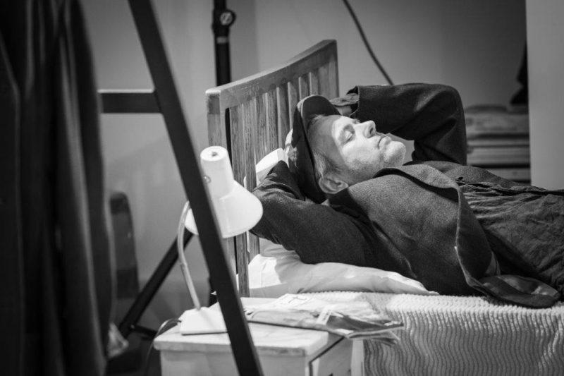 Rupert Graves in rehearsal for Pinter Five. Photo Marc Brenner REH