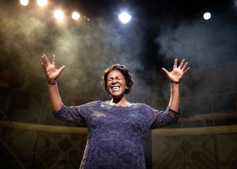 Sharon D. Clarke in Caroline Or Change Playhouse Theatre Credit Helen Maybanks