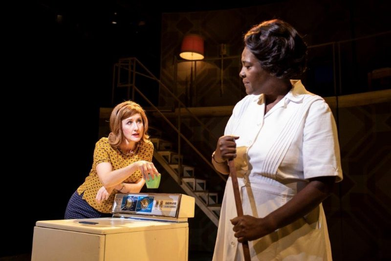 Lauren Ward and Sharon D. Clarke in Caroline Or Change Playhouse Theatre Credit Helen Maybanks