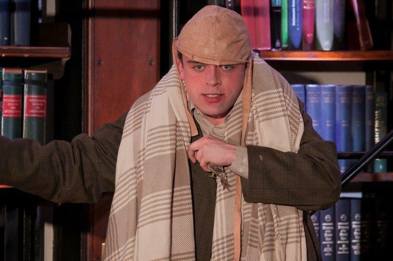 Bart Lambert plays c. Richard Budd