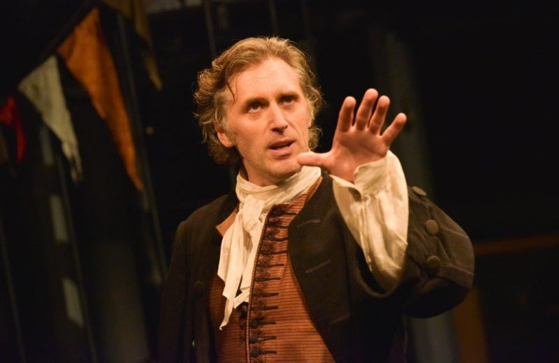 Edward MacLiam Maskwell in THE DOUBLE DEALER by William Congreve Orange Tree Theatre photo by Robert Day