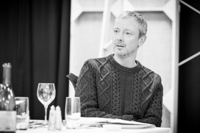 John Simm in rehearsal for Pinter . Photo Marc Brenner.REH