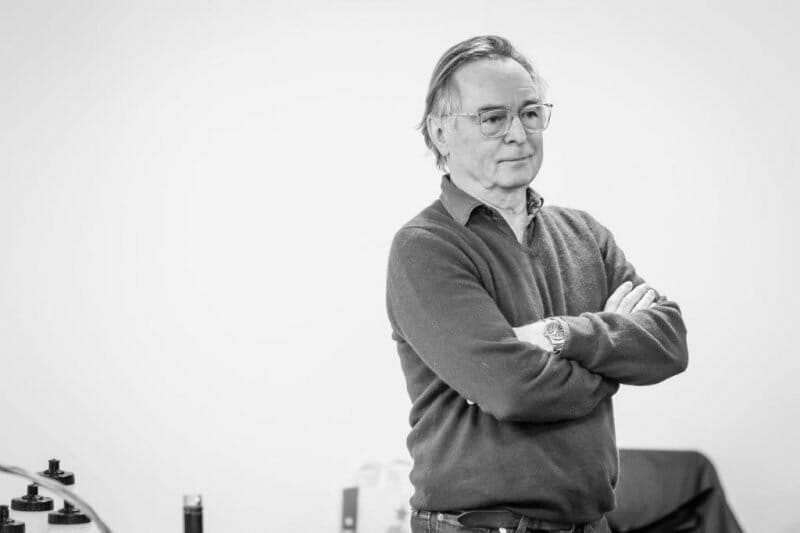 Ron Cook in rehearsals for Pinter . Photo Marc Brenner. REH