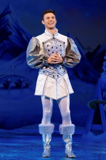 Snow White at The London Palladium Charlie Stemp as Prince Harry of Hampstead Photo Paul Coltas