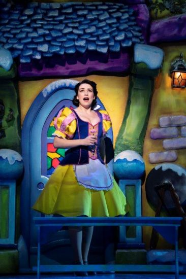 Snow White at The London Palladium Danielle Hope as Snow White Photo Paul Coltas