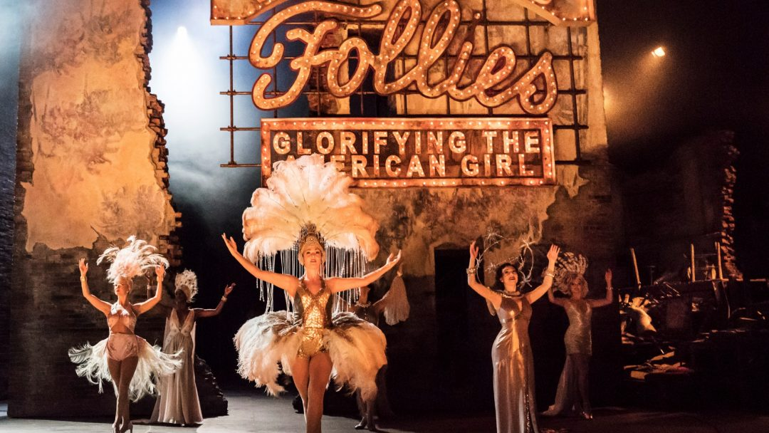 The original cast of FOLLIES at the National Theatre c Johan Persson