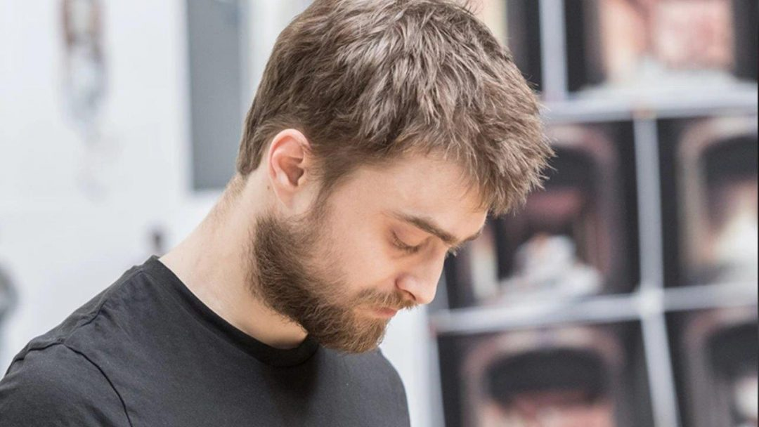 Daniel Radcliffe in Rehearsal at The Old Vic c. Manual Harlan