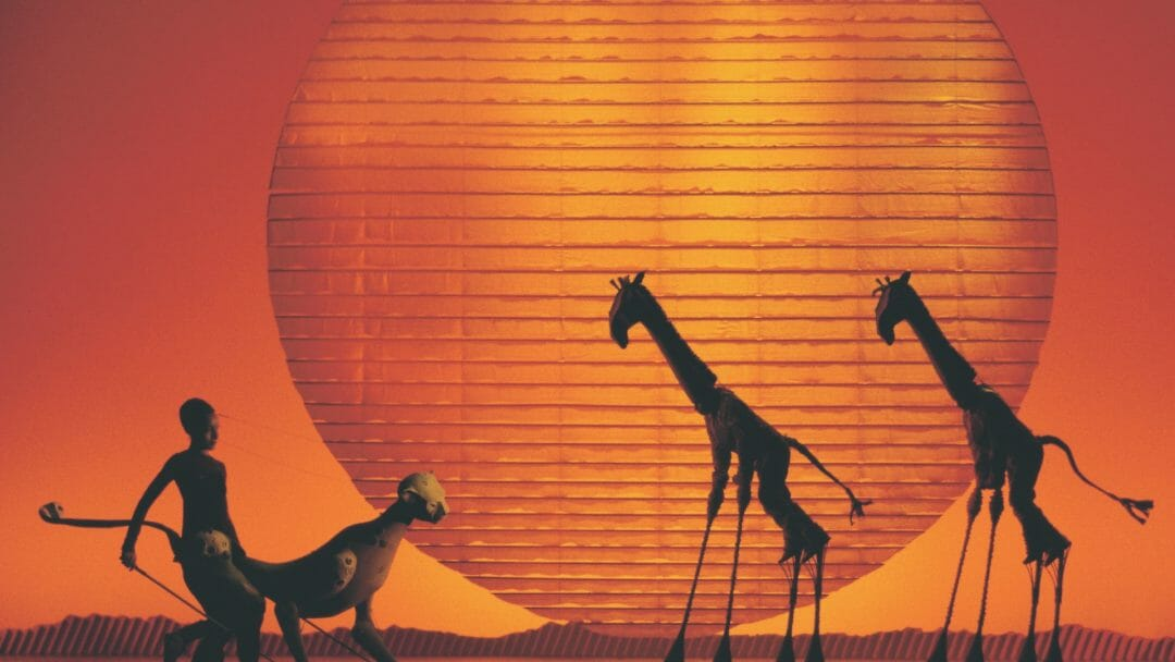 Disneys The Lion King at the Lyceum Theatre London. Photo by Catherine Ashmore