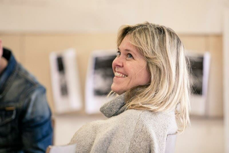 Lizzie Roper in rehearsals for Rutherford and Son. The Other Richard. min