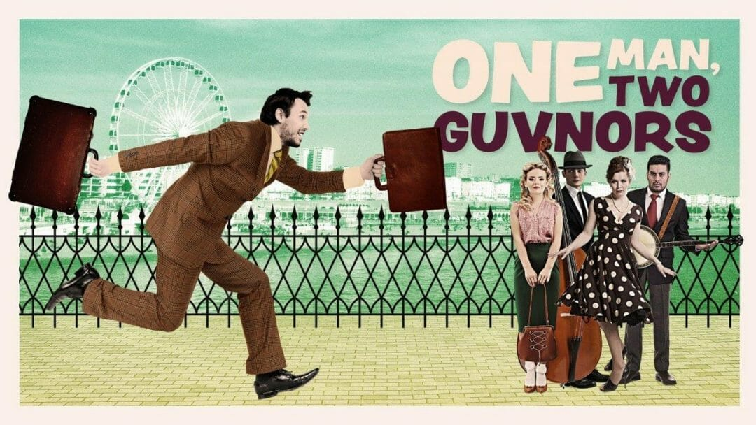 One Man Two Guvnors Queens Theatre Hornchurch Derby Theatre