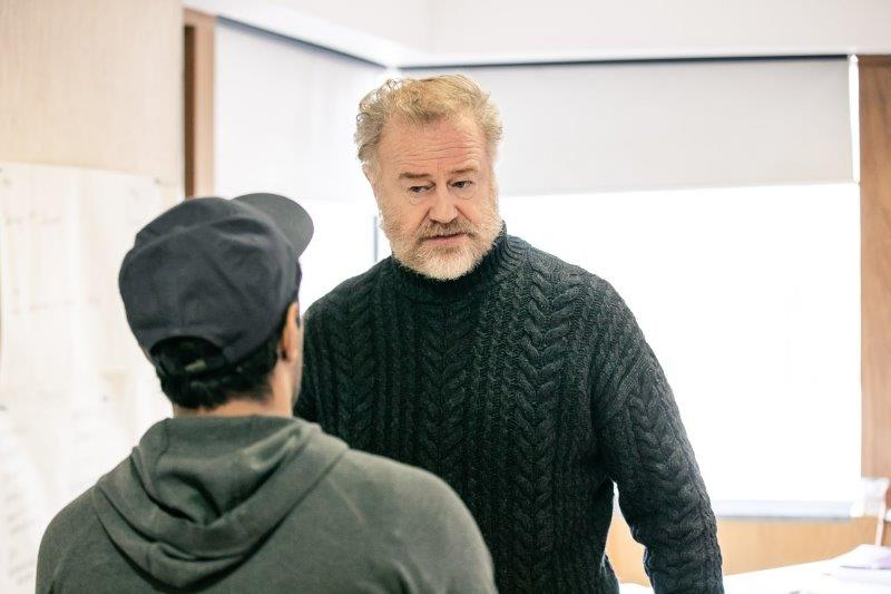 Owen Teale in rehearsals for Rutherford and Son. The Other Richard. min