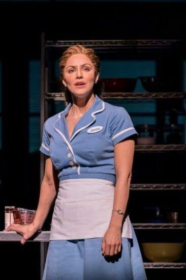 . Waitress Adelphi Theatre Katharine McPhee Jenna Photographer Johan Persson