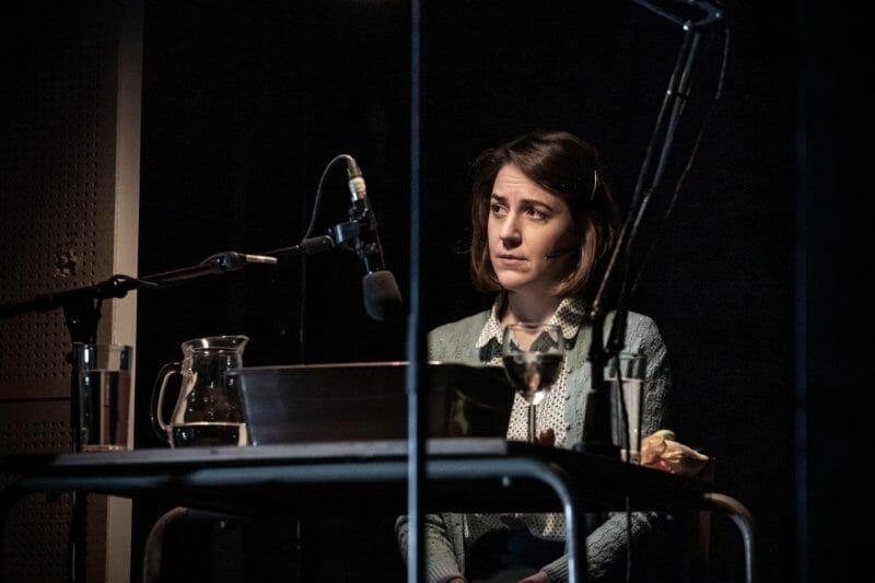 Gemma Whelan in Pinter Seven. Photo credit Marc Brenner