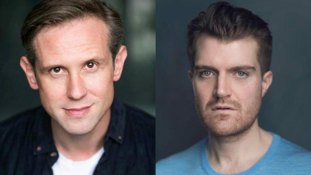 Ian Hallard and Ciarán Owens Tumulus Soho Theatre