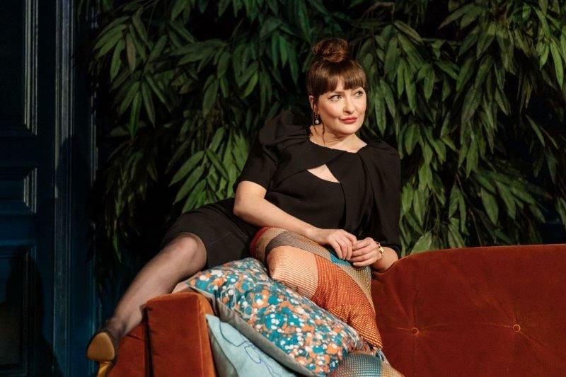 Kathy Kiera Clarke in Tartuffe by Molière in a new version by John Donnelly. Image by Manuel Harlan