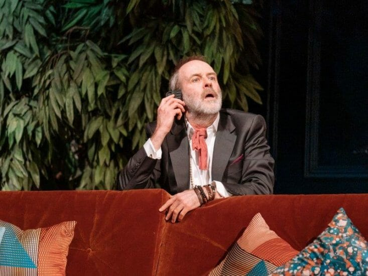 Kevin Doyle in Tartuffe by Molière in a new version by John Donnelly. Image by Manuel Harlan