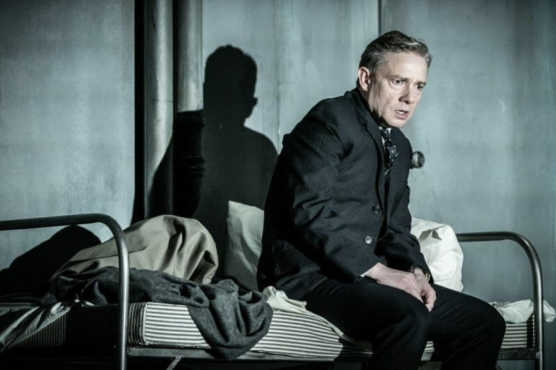 Martin Freeman in Pinter Seven. Photo credit Marc Brenner