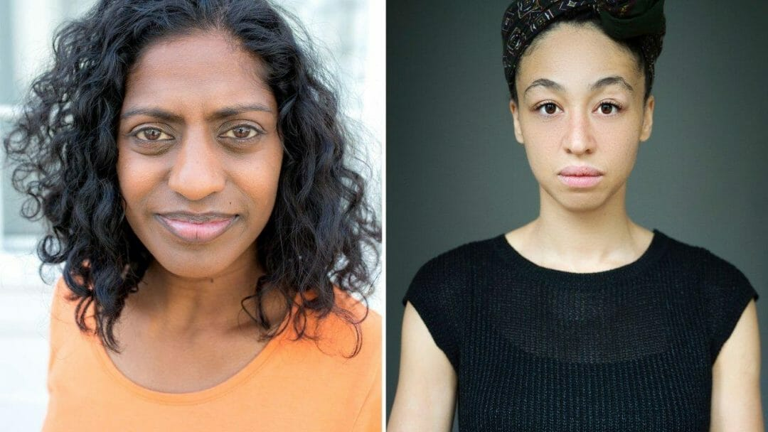 Nadia Nadarajah and Charmaine Wombwell Going Through at Bush Theatre