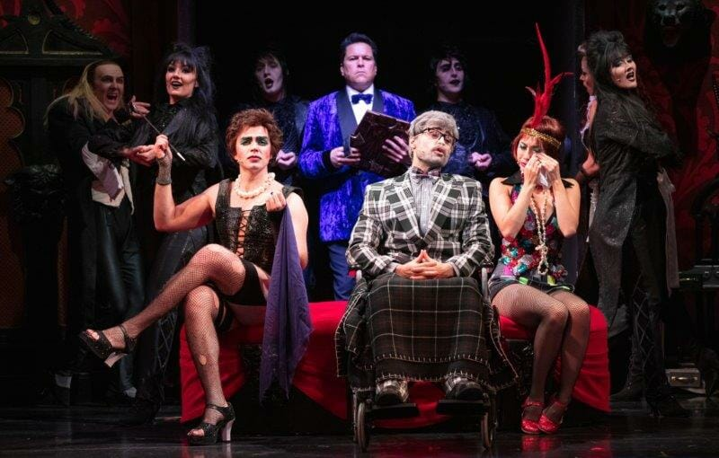 The Cast of The Rocky Horror Show c. David Freeman