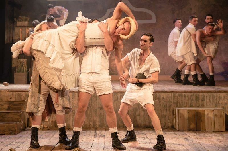 The Pirates of Penzance at Wiltons Music Hall photo credit Scott Rylander