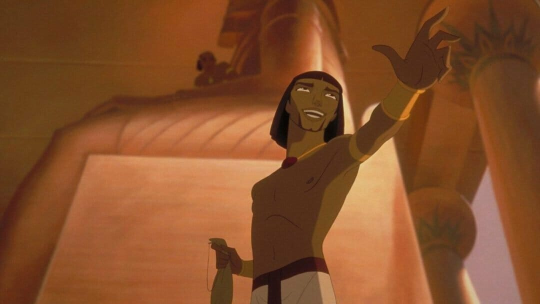 The Prince of Egypt courtesy Dreamworks Animation