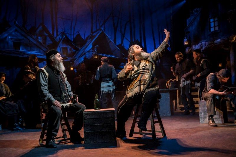 Dermot Canavan Lazar Wolf and Andy Nyman Tevye credit Johan Persson