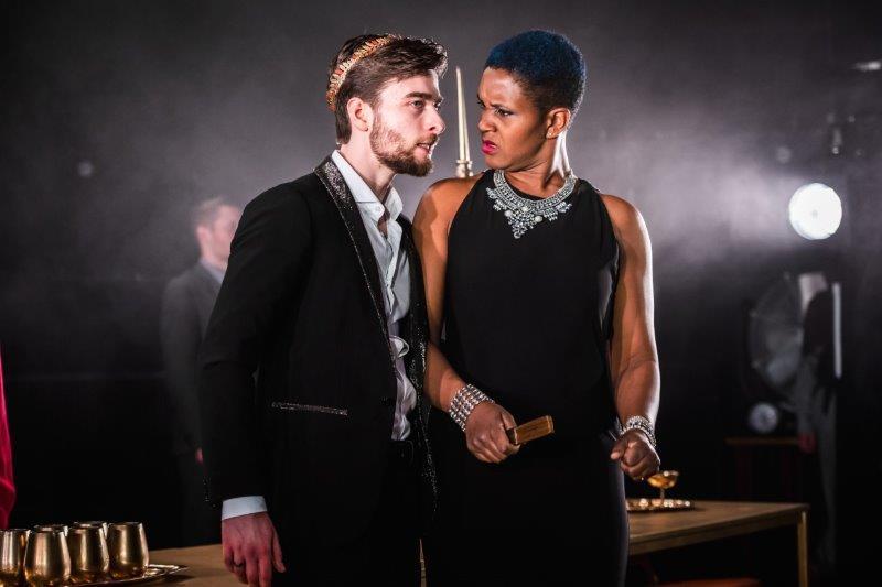 Jamie ONeill as Herod Annemarie Anang as Herodias. Shot by Adam Trigg