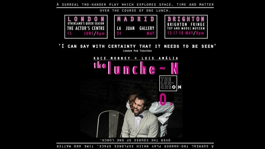 POSTER b the luncheon x