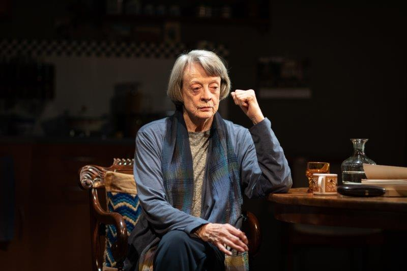. Maggie Smith Brunhilde Pomsel. Photo Credit Helen Maybanks