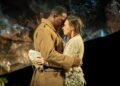 Ashley Gayle as Mandras Madison Clare as Pelagia in Captain Corellis Mandolin credit Marc Brenner