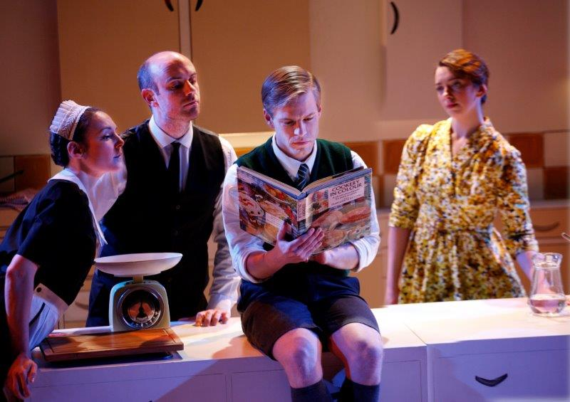 L R Marie Lawrence as Joan Jake Ferretti as Josh Giles Cooper as Nigel Slater Lizzy Muncey as Mum c Simon Annand