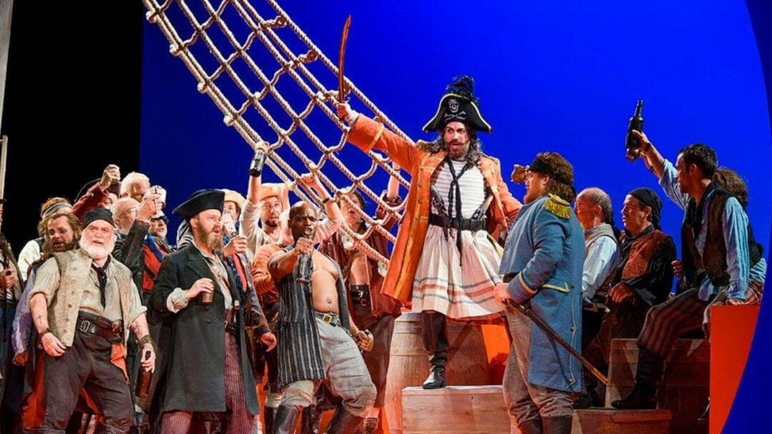 ENO Pirates of Penzance directed by Mike Leigh
