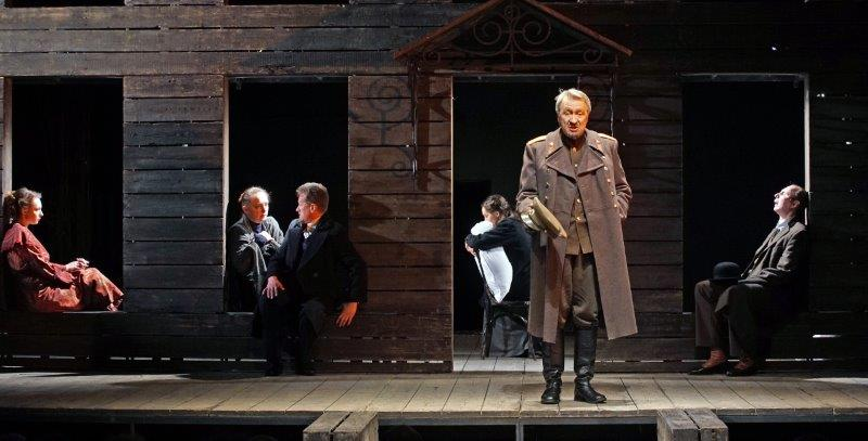 Igor Chernevich and the cast of Three Sisters © MDT
