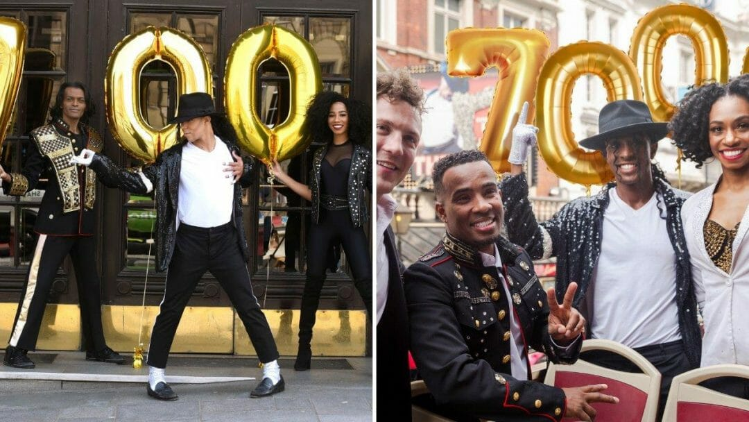London and Edinburgh Casts Celebrate Thriller Live Performances