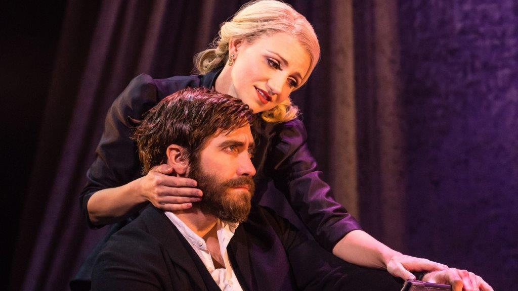 Annaleigh Ashford and Jake Gyllenhaal in Sunday in the Park with George Photo Credit Matthew Murphy