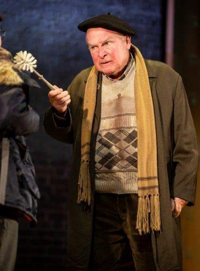 Ian Talbot as Bert Baxtor in Adrian Mole the Musical credit Pamela Raith