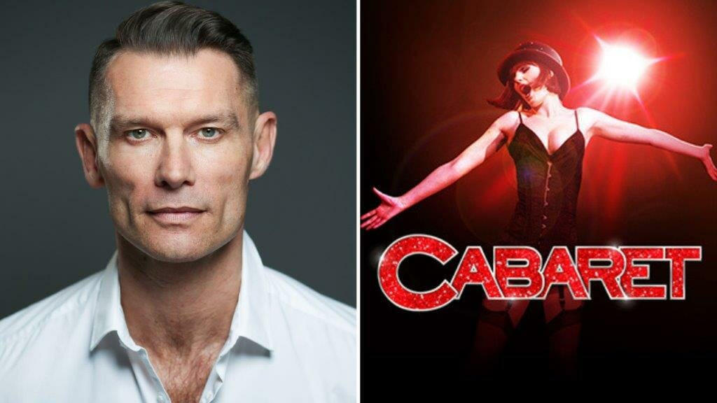 John Partridge will play Emcee in Cabaret