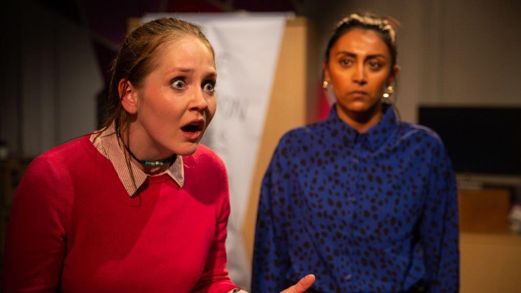 Maisie Preston Danica and Natasha Patel Rcuhi. Photo Credit Cam Harle