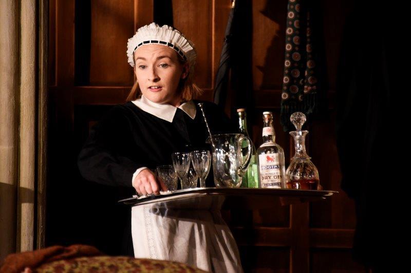 Rose Wardlaw in Blithe Spirit at Theatre Royal Bath. Credit Nobby Clark