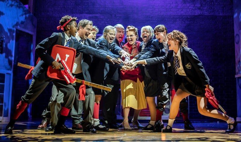 The Cast of Adrian Mole the Musical credit Pamela Raith