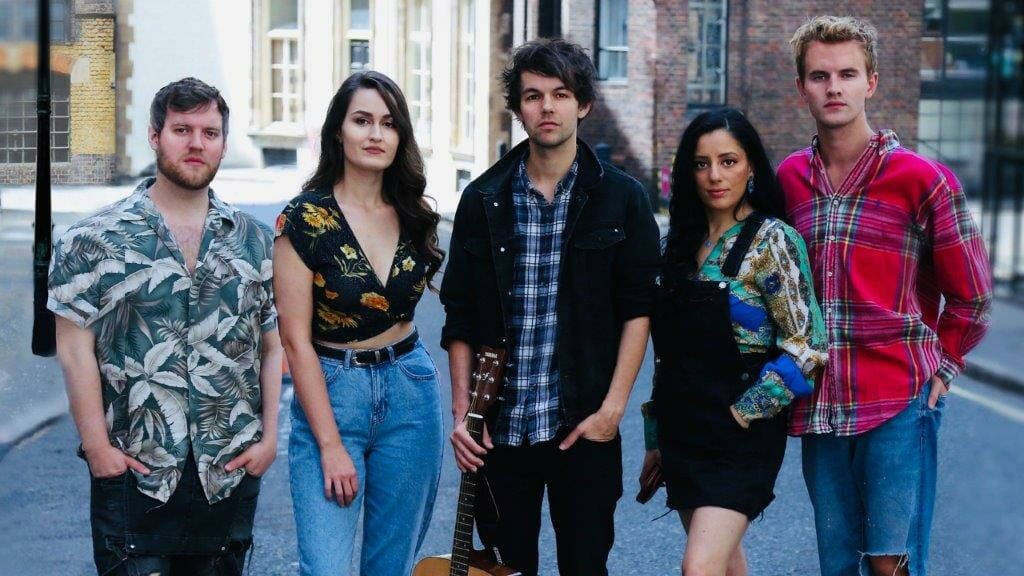 The Cast of FIVER Photo Josef Pitura Riley