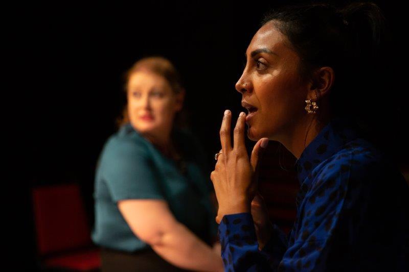 l r Joan Potter Gracelyn and Natasha Patel Ruchi. Photo Credit Cam Harle