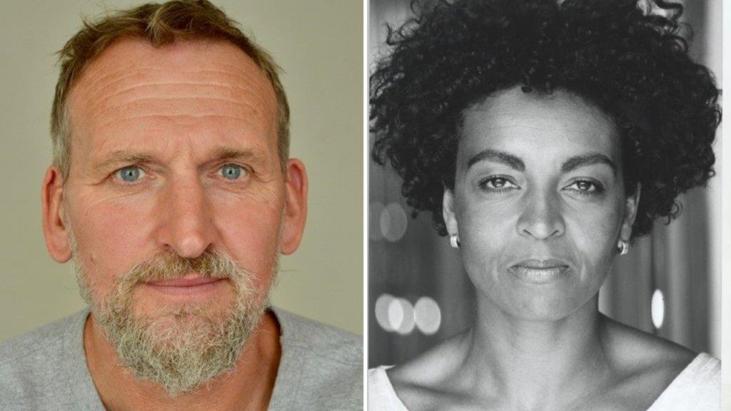 Christopher Eccleston courtsy of the artist and Adjoa Andoh