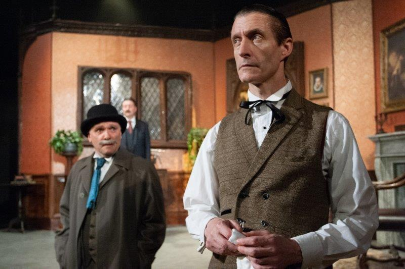 Doug Cooper Inspector Peacock Stephen Chance Sherlock Holmes