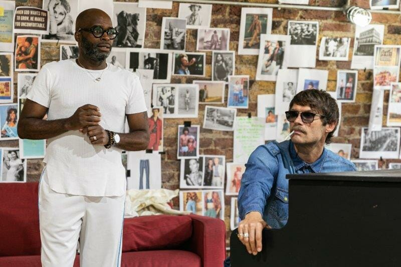 LtoR Cedric Neal and John Partridge in rehearsals for The View UpStairs credit Darren Bell
